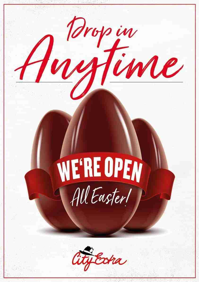 Easter 2020 - We are Open 1