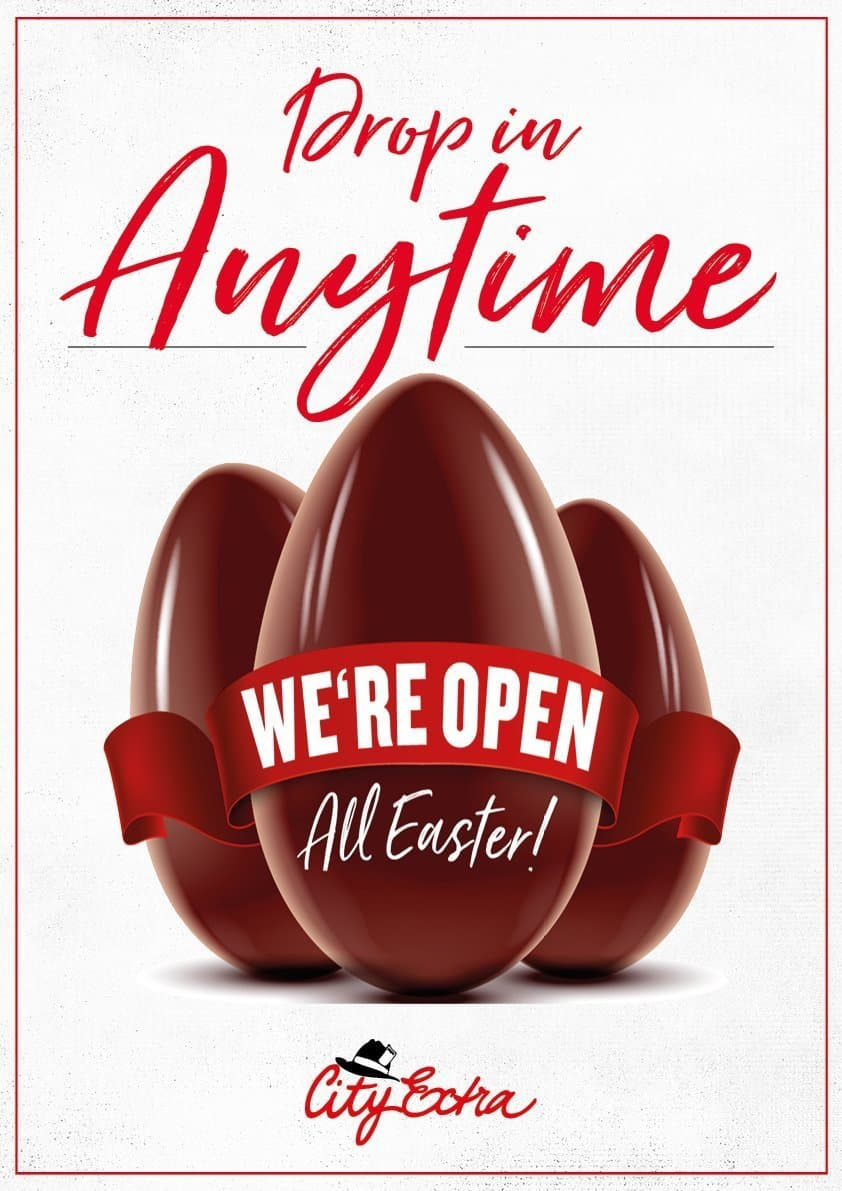 Easter 2020 - We are Open 2
