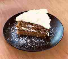 Come try our wonderful carrot cake