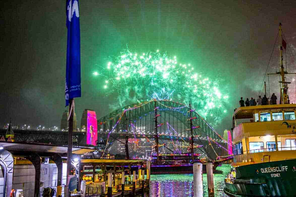 Sydney Harbour New Years Eve 2020 1