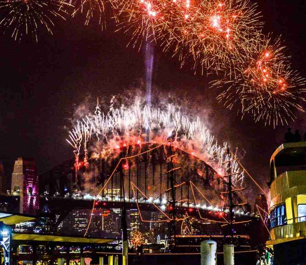 Sydney Harbour New Years Eve 2020