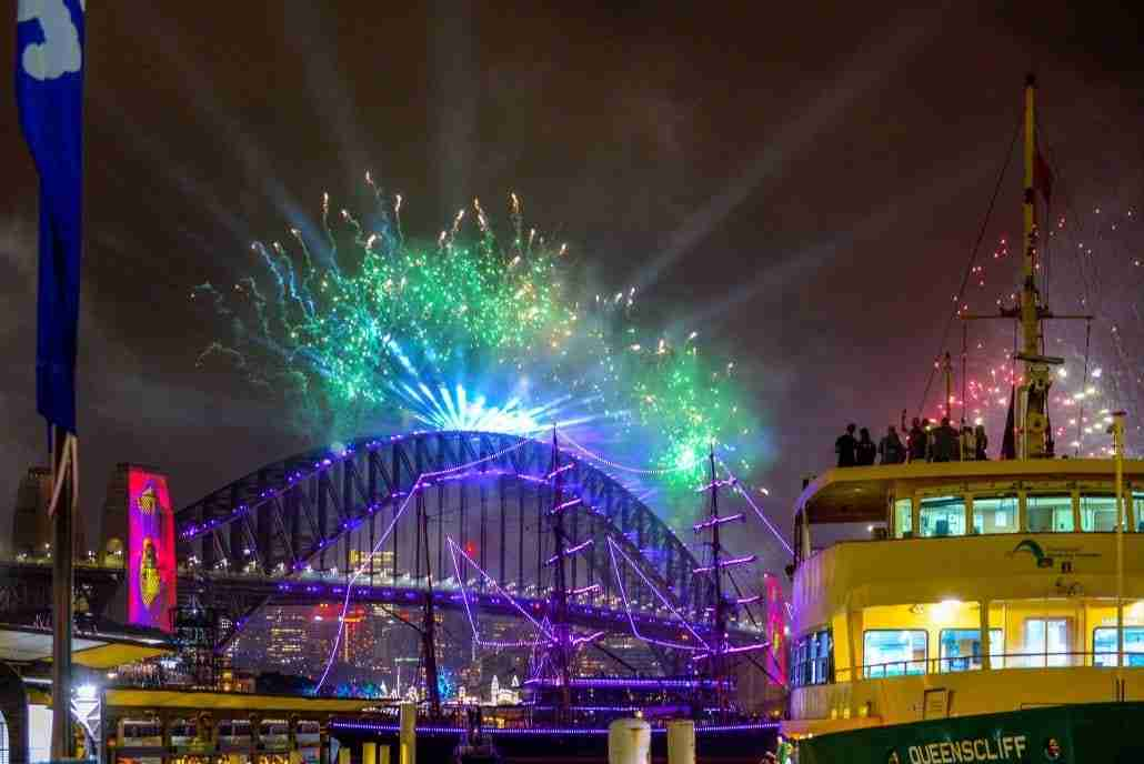 Sydney Harbour New Years Eve 2020-2