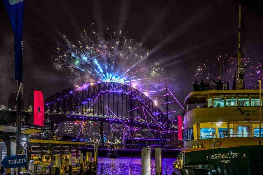 Sydney Harbour New Years Eve 2020-3