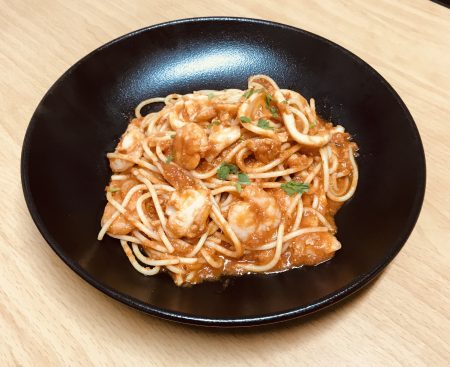 Spaghetti Marinara 1